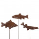 Metal plug pike / carp / trout, 3 motives,